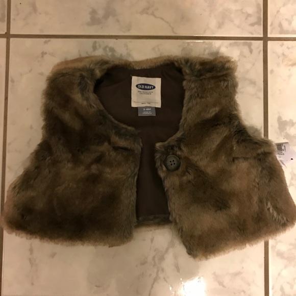 654748357 Old Navy Jackets & Coats   Brand New Baby Girl Fur Coat   Poshmark